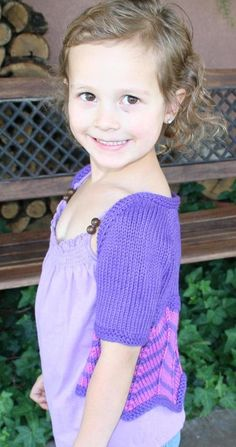 Taiga Hilliard Designs--Taiga Hilliard--Venessa Shrug (birth - age 4)