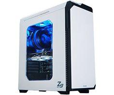 #Gaming #Tower #Case #White #Zalman #Computer