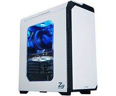 #Gaming #Tower #Case #White #Zalman #Computer