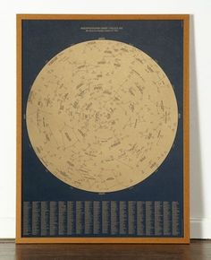 Golden Age Star Chart by Dorothy