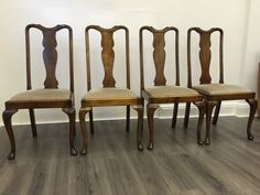Photo Of Regency Table & Set Queen Anne Dining Chairs  Walnut Interesting Queen Anne Dining Room Set Design Decoration