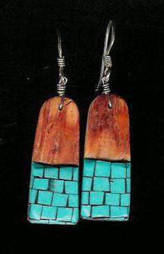 Santo Domingo earrings....via Kathy Duncan on T'Die For