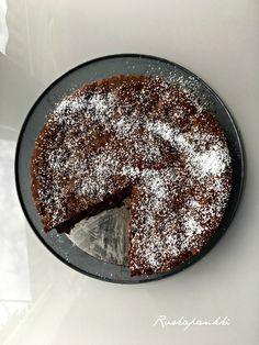 Ruokapankki: Puolukkainen mutakakku #puolukka #suklaa