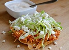 Tostadas de Tinga 3 things to make in 2019 Mexican food recipes, Tostada recipes, Tostadas Mexican Cooking, Mexican Food Recipes, Dinner Recipes, Tinga Recipe Authentic, Popular Mexican Food, Tostada Recipes, Chicken Tostadas, Chicken Taquitos, Cooking Recipes
