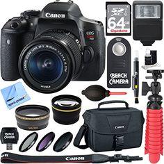 Canon EOS Rebel T6i Digital SLR with EF-S 18-55mm IS STM Lens - Wi-Fi Enabled - http://allcamerasportal.com/canon-eos-rebel-t6i-digital-slr-with-ef-s-18-55mm-is-stm-lens-wi-fi-enabled/