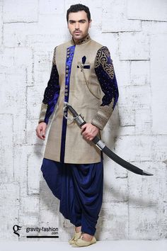 2015 classic sherwani for groom; latest wedding sherwani