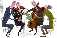 What Makes an Orchestra - written & illustrated by Jan Balet (1965)