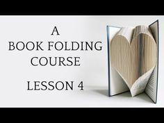 Book Folding Basics Explained   Love Book Folding