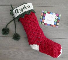 Items similar to Personalised Crochet Christmas Stocking, Christmas Decor, Baby's First Christmas on Etsy Crochet Christmas, Christmas Decorations, Holiday Decor, Make Design, Crochet Designs, All Things Christmas, Christmas Stockings, Trending Outfits, Unique Jewelry