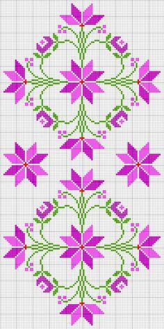 Cross Stitch Rose, Cross Stitch Borders, Cross Stitch Designs, Cross Stitch Embroidery, Hand Embroidery, Cross Stitch Patterns, Embroidery Designs, Swedish Weaving, Hama Beads Patterns