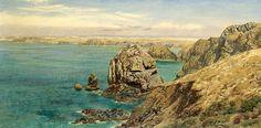 Mount's Bay Cornwall by John Brett