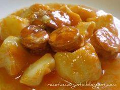 La suculenta: Patatas a la riojana