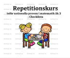 Checklista inför NP matematik Åk 3 – Skolmagi.nu Comics, Comic Books, Comic Book, Comic, Cartoons, Comic Art, Graphic Novels