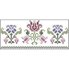Herrschners® Garden Sampler Pillowcase Pair Stamped ...