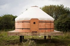 Architecture  Modern design : jero flat pack yurt designed for nomadic lifestyle  designboom | architecture