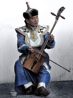 Musician. Mongolia