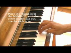 Easy to learn to play piano. Beginners lessons you can use now.