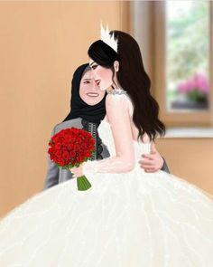 Photo Art, Snow White, Disney Characters, Fictional Characters, Disney Princess, How To Wear, Wedding, Pencil Art, Photos