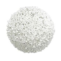 Doctor Zhivago Teters Floral Pearl Glitter Ball (Set of 4)