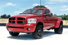 Dodge Ram 2500 Dually Conversion along with Aftermarket Tow Mirrors.