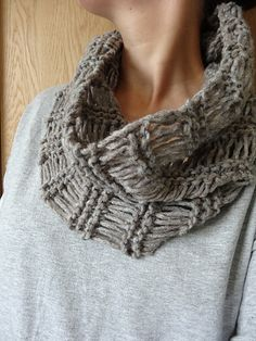 http://www.ravelry.com/patterns/library/super-quick-yarn-saving-knitted-cowl