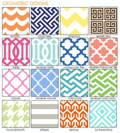 Haymarkets geometric designs and patterns