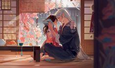 Sesshomaru & Rin by Milk. Rin And Sesshomaru, Inuyasha And Sesshomaru, Kagome And Inuyasha, Cute Anime Pics, Anime Love, Fanarts Anime, Anime Manga, Anime Art, Anime Couples