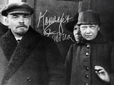 Ilich (Vladimir) Lenin & Nadezhda Krupskaya