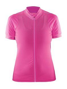 CRAFT GLOW damska koszulka rowerowa 1903265-2403 - ODZIEŻ ROWEROWA Różowy - MikeSport.pl