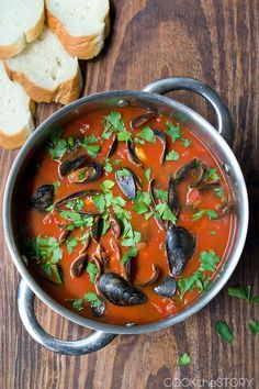 Spicy Mussel Soup