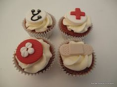 Click the link and learn from the experts. Mini Cupcakes, Cupcake Cakes, Link And Learn, How To Make Cake, Cake Decorating, Desserts, Baking Ideas, Food, Nursing