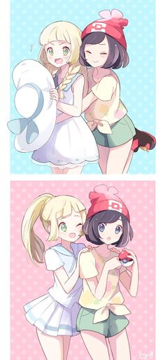 Pokémon - Lillie and Moon