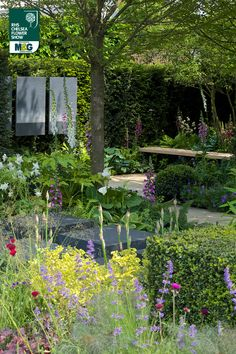 RHS Chelsea Flower Show - Show Garden - Hope on the Horizon sponsored by David Brownlow Charitable Foundation Help For Heroes Matt Keightley