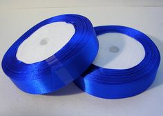 Satin Ribbon R57A 3/4 Royal Blue  25 yard by LindsayStreemDIY (Craft Supplies & Tools, General Supplies, Embellishments, Ribbons & Lace, ribbon, satin, hair bows, crafts, sewing, wedding, weddings, scrapbooking, ribbon neckalce, choker, ribbon wand, party favor, decor)