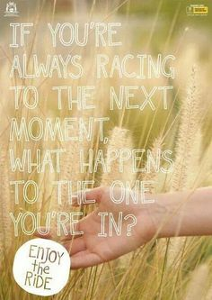 Enjoy the ride! And embrace it! Life's way more fun this way #happylife