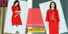 Solid and #stylish Find our #awesome line of solids here : http://nextsize.in/