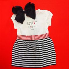 LOVELY & FRUITY!!! ❤️ #Colibrí #DF #SPGG #OutfitOfTheDay #FashionLovers #GirlsWear #Dresses #Accessories #Bows #WeHeartIt #Beautiful