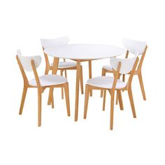 Avalon Round Dining Table - White