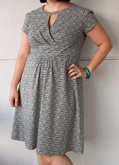 Lisette Cut-out Dress: Butterick 6168
