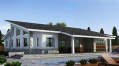 LISBOA 195 m2 YTONG, Hormigón celular con trasdosado tejado inclinado
