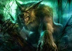 Hombre lobo furioso