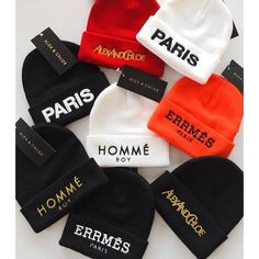 Fashion of Hats! Outfits With Hats, Swag Outfits, Cute Casual Outfits, Fashion Outfits, Cute Beanies, Cute Hats, Beanie Outfit, Beanie Hats, Bonnet Outfit
