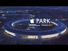 Lélegzetelállítóan fest az Apple Park a naplementében - Apple hírek