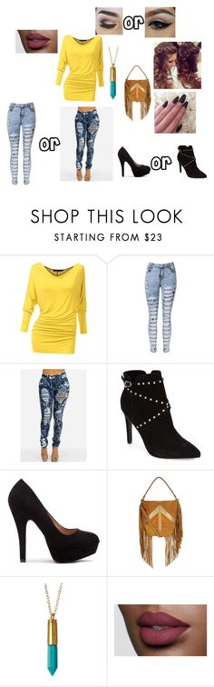 """""""choices"""" by lauraissweetandawesome on Polyvore featuring Topshop, Jérôme Dreyfuss, Jami, women's clothing, women's fashion, women, female, woman, misses and juniors"""