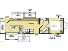 5th wheel 2 bathroom floor plans wildcat 323qb 2012 bunk Top rated floor plans