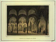 Interior de la Mezquita de Córdoba (1855)