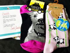 Sock Panda Review - I opted to try both the Bold and Cool options, click through to see what I got!