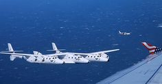 Commercial Jetliner Joined by Virgin Galactic