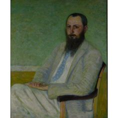 """Portrait of Theodore Earl Butler,"" William Howard Hart, oil on canvas, 22 x Terra Foundation for American Art. Art Nouveau, American Impressionism, Victorian Life, Fauvism, American Art, Butler, Oil On Canvas, William Howard, Mona Lisa"