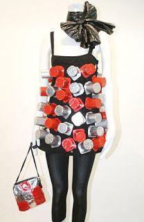 Vestidos con Material Reciclado, Moda y Diseño Ecoresponsable, II Parte